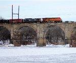 BNSF 6155, CSX 7796 on oil train K038